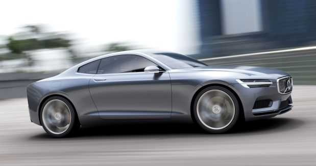 DNP Volvo's Concept Coupe is a twoseater plugin hybrid