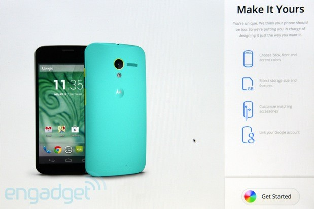 Motorola details Moto Maker, the website you'll use to build Moto X (video)