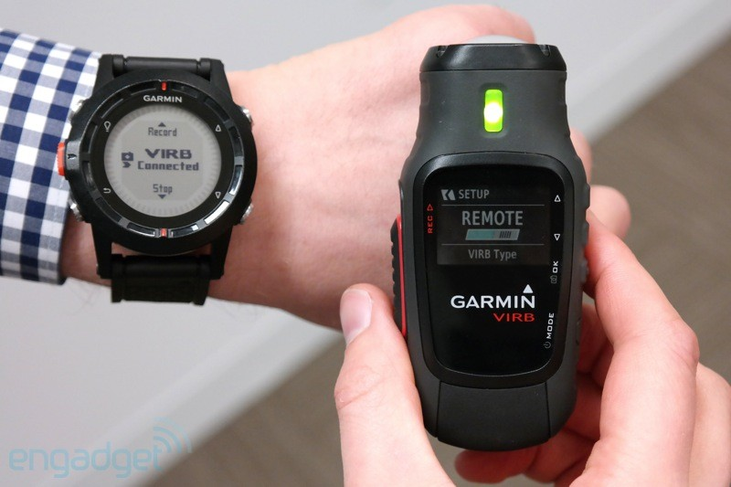 Garmin VIRB action cam handson