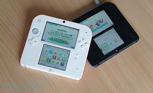 Nintendo's 2DS one dimension poorer, but potentially all the richer handson