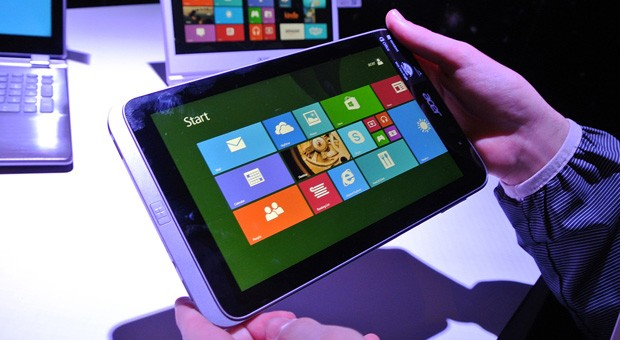 Acer Iconia W4 tablet with Bay Trail caught on video