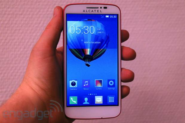 Alcatel One Touch's Pop Cseries line of budget phones handson