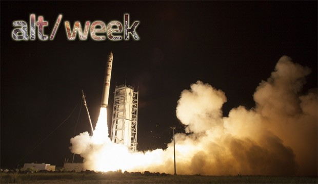 Altweek 090713 3D printed cars, invisibility cloaks, and LADEE launches