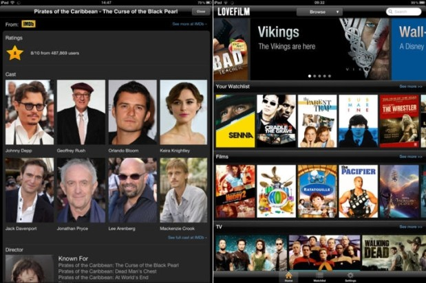 DNP Amazon Lovefilm adds Airplay streaming