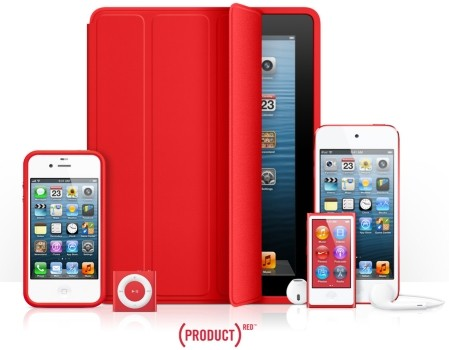 DNP Apple has raised over $65 million to fight AIDS for Project Red