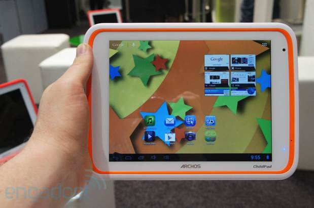 Archos 101 XS, ChefPad and ChildPad tablets handson video