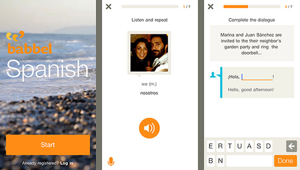 DNP Babbel launches learning apps for iOS 7