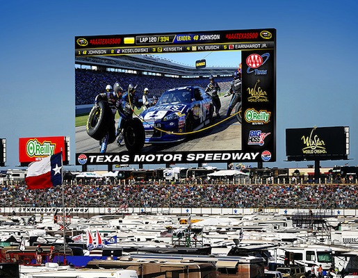 Texas Motor Speedway's 'Big Hoss' will be the world's largest HD screen next year