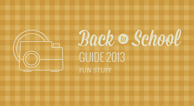 Engadget's back to school guide 2013: fun stuff!