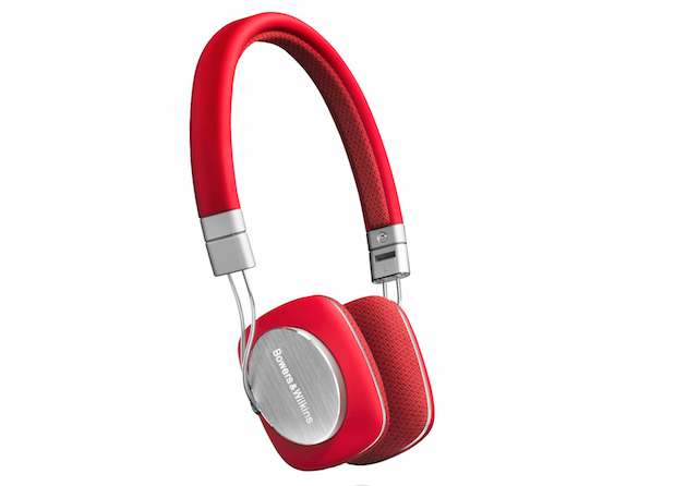 Bowers & Wilkins P3 headphones arrive in Red starting this October