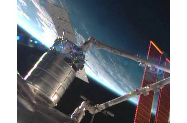 Orbital Sciences becomes second private firm to resupply the ISS
