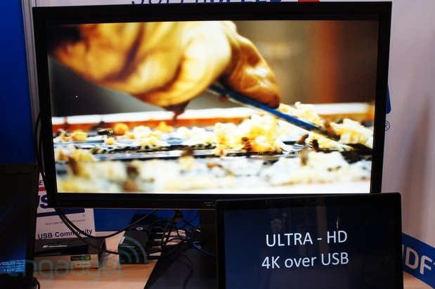 DisplayLink's streams 4K content over USB 20 and 30 eyeson
