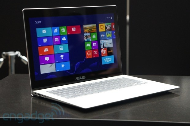 Hands-on with ASUS' Zenbook UX301, an Ultrabook with a Gorilla Glass lid and 2,560 x 1,440 touchscreen