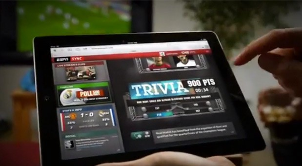 ESPN Sync punches realtime sports with secondscreen web app