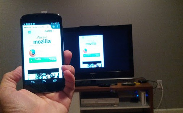 Mozilla tests Chromecaststyle tab mirroring between Firefox and Roku box