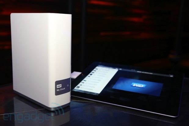WD announces My Cloud, an external drive that connects to your home network for $150 video