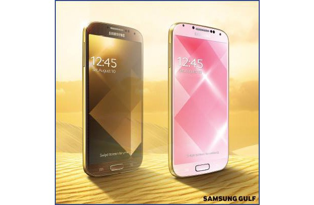 Out of nowhere, Samsung hits us with gold Galaxy S 4s