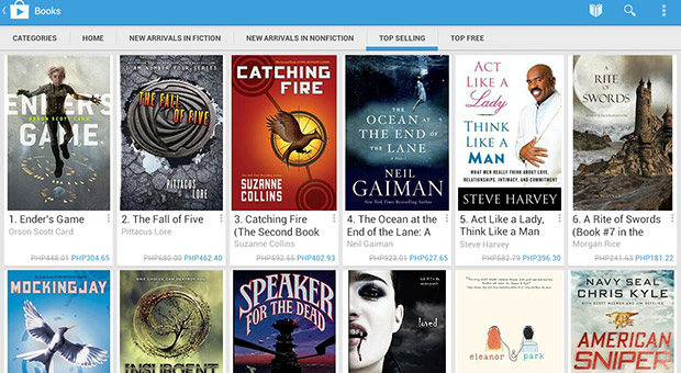 DNP Google Play Books in Asia