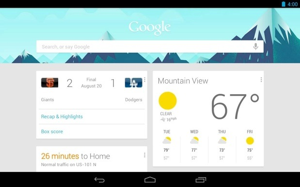 Google Search app for Android updated with locationbased related websites and more
