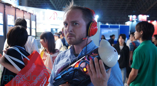 Chew'emup idea sport tries to beget eating vegetables diverting at TGS 2013