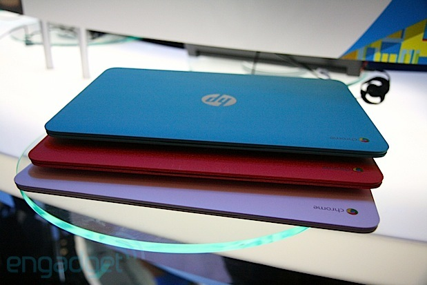 HP Chromebook 14 with Haswell handson video