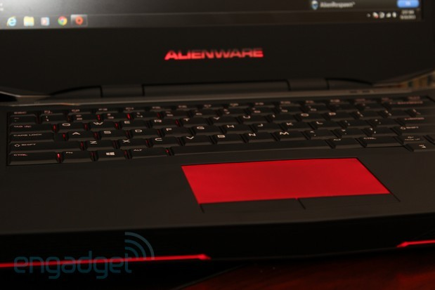 how to turn on keyboard light on alienware