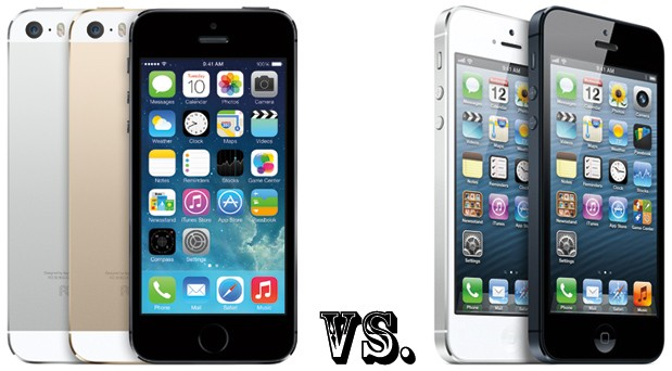 iPhone 5s vs iPhone 5 what's changed