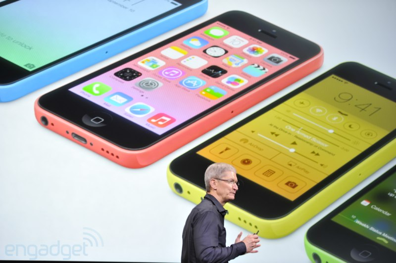 Dostupnost iPhone 5S a iPhone 5C