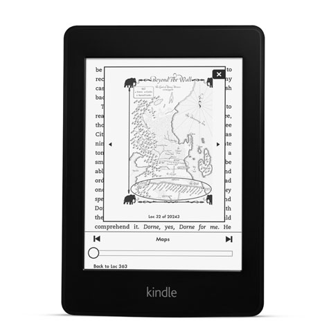 What's in the new Kindle Paperwhite Better lighting, a faster chip and one big Amazon logo