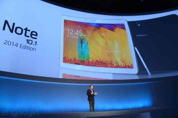 Samsung reveals Galaxy Note 101 2014 edition