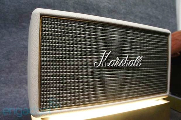 Marshall shows off its mini Stanmore speakers at IFA eyeson