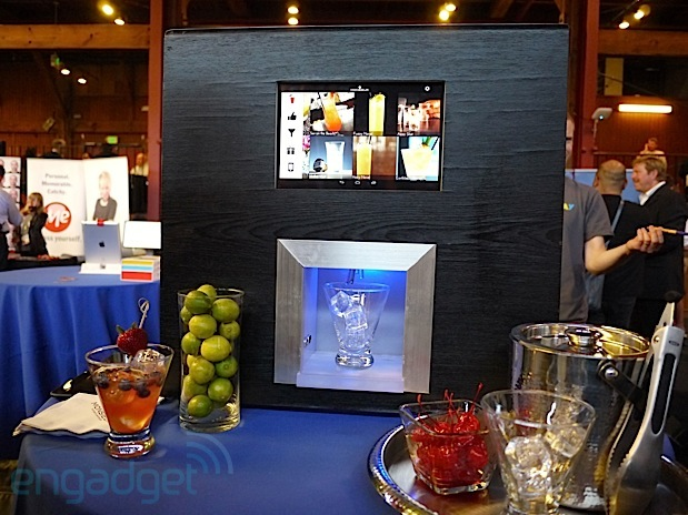 DNP Monsieur robotic bartender aims to bring automated mixed drinks to highend bars