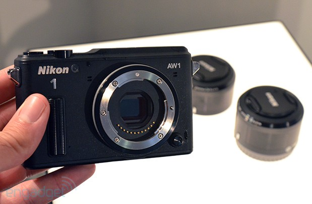Nikon's AW1 is the world's first waterproof interchangeablelens camera hands on