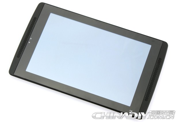 NVIDIA Tegra Note tablet poses for glamor shots with stylus and flip cover in tow