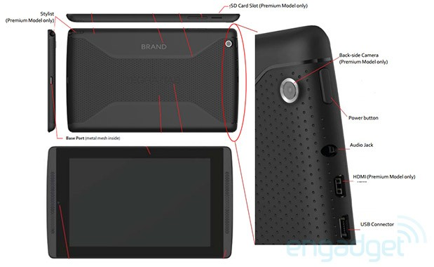 NVIDIA Tegra TAB coming with Tegra 4 chip, 7inch display, stylus