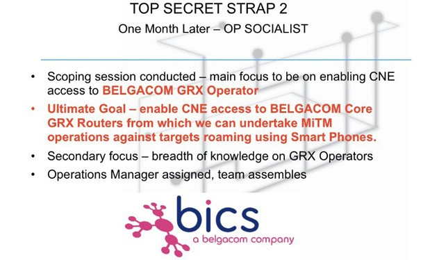 Snowden leaks propose UK was spying on Belgian telecom, not NSA