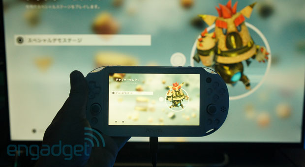 Handson with the new PlayStation Vita