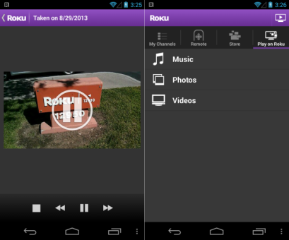 DNP Roku's Android app updated with usercreated video streaming