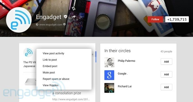 Google adds embedded posts and expands authorship in search results