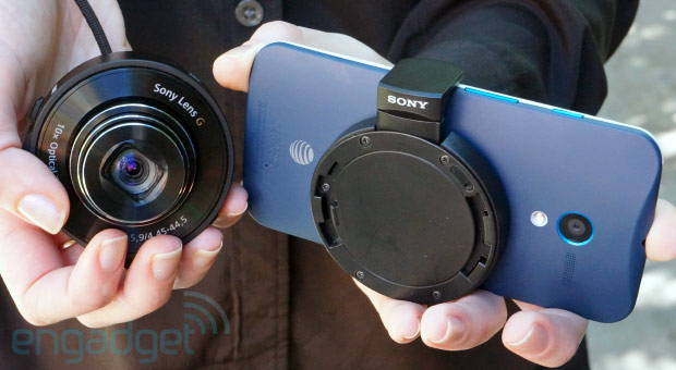 Sony Cyber-shot QX10 review: a WiFi 'lens camera' that mounts directly on your smartphone
