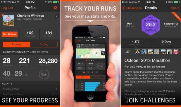 DNP Strava fitness app updated with iPhone 5S motion coprocessor support, improved battery use