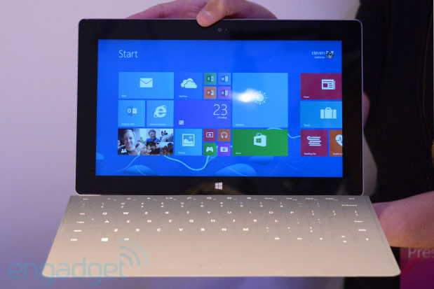 Microsoft Surface 2 handson