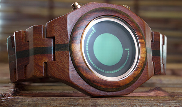 DNP Another wooden Tokyoflash timepiece emerges, the Maru