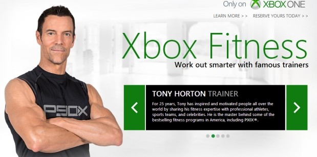 DNP Microsoft accidentally leaks Xbox One's fitness service, blames lack of spotter