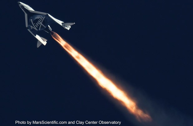 DNP Virgin Galactic completes its second successful test flight