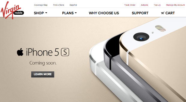 Virgin Mobile teases iPhone 5s and 5c as 'coming soon,' prepaid pricing TBA