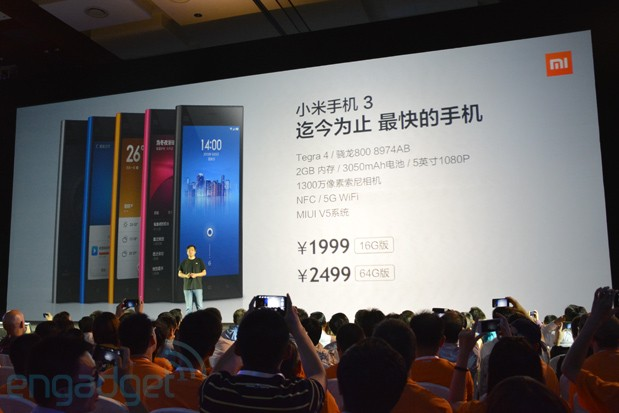 Xiaomi unveils new Androidpowered 5inch MiPhone 3, 47inch smart TV in China