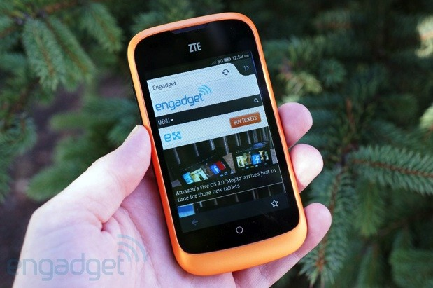 phone zte open review battery