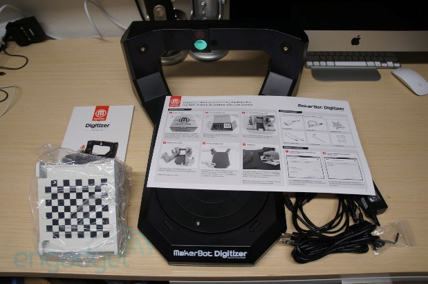 Digitizer makes 3D scanning accessible, but not yet practical
