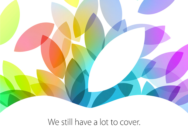 Apple October 22nd event invitation